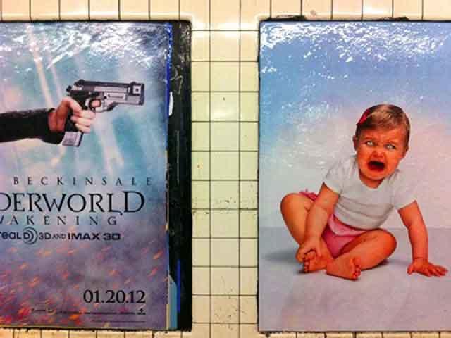 Metro Poesía Visual Publicidad
