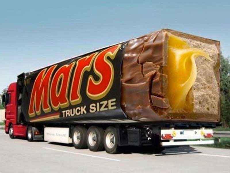 Mars Poesía Visual Publicidad