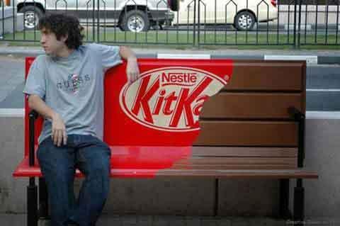 Kit Kat Poesía Visual Publicidad