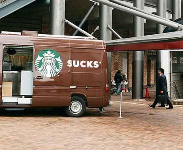 Starbucks Poesía Visual Publicidad