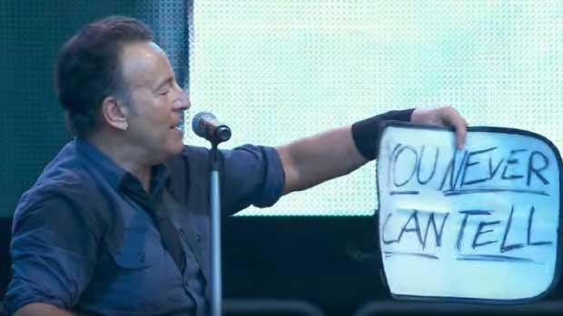 Por esto Bruce es The Boss