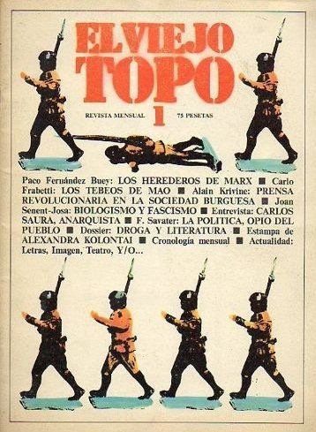 El viejo topo nº 1 Portadas revistas
