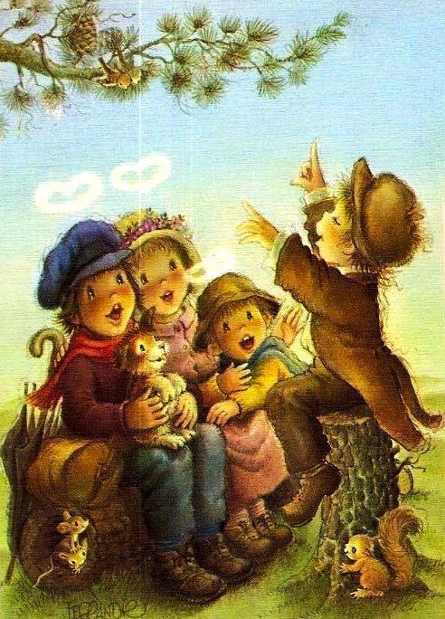 Postales de Navidad de Ferrandiz