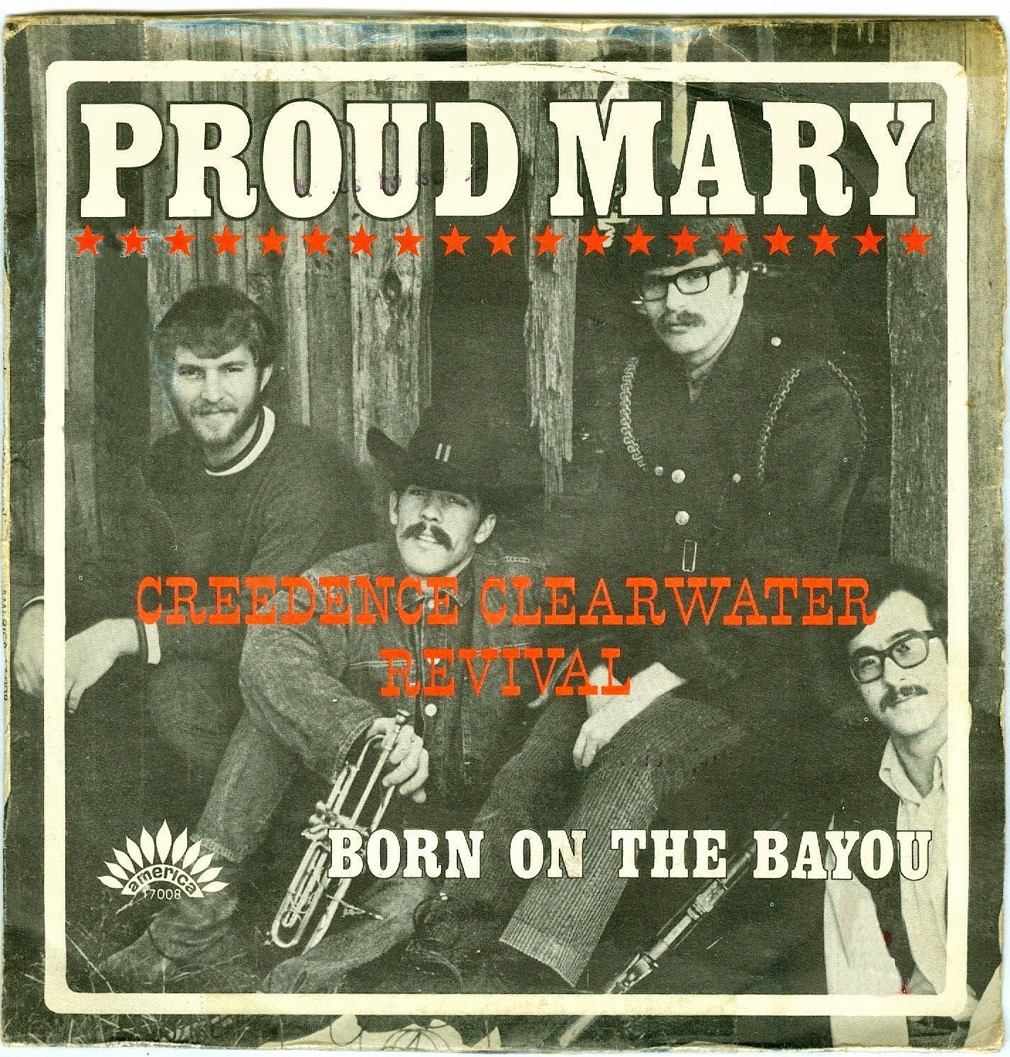 Proud Mary (1969) de Creedence Clearwater Revival en el Show de Sullivan