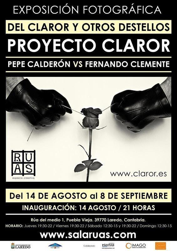 Proyecto Claror de José Calderón y Fernando Clemente, poetas visuales