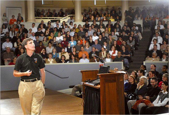 """Conferencia """"La última lección"""" de Randy Pausch pronunciada el 18 de septiembre de 2007 (extractos)"""