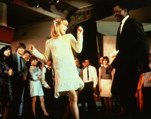 Rebelión en las aulas de James Clavell, 1967 (escena baile)