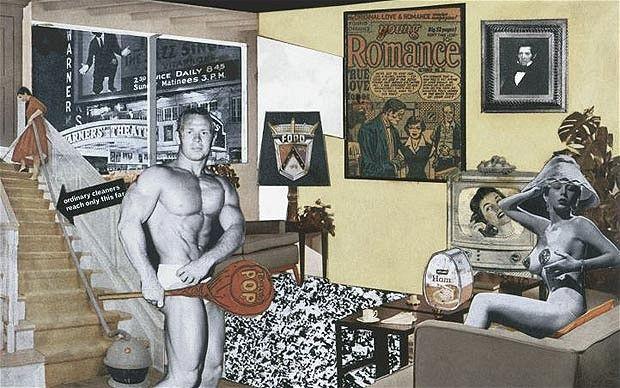 Collage de Richard Hamilton