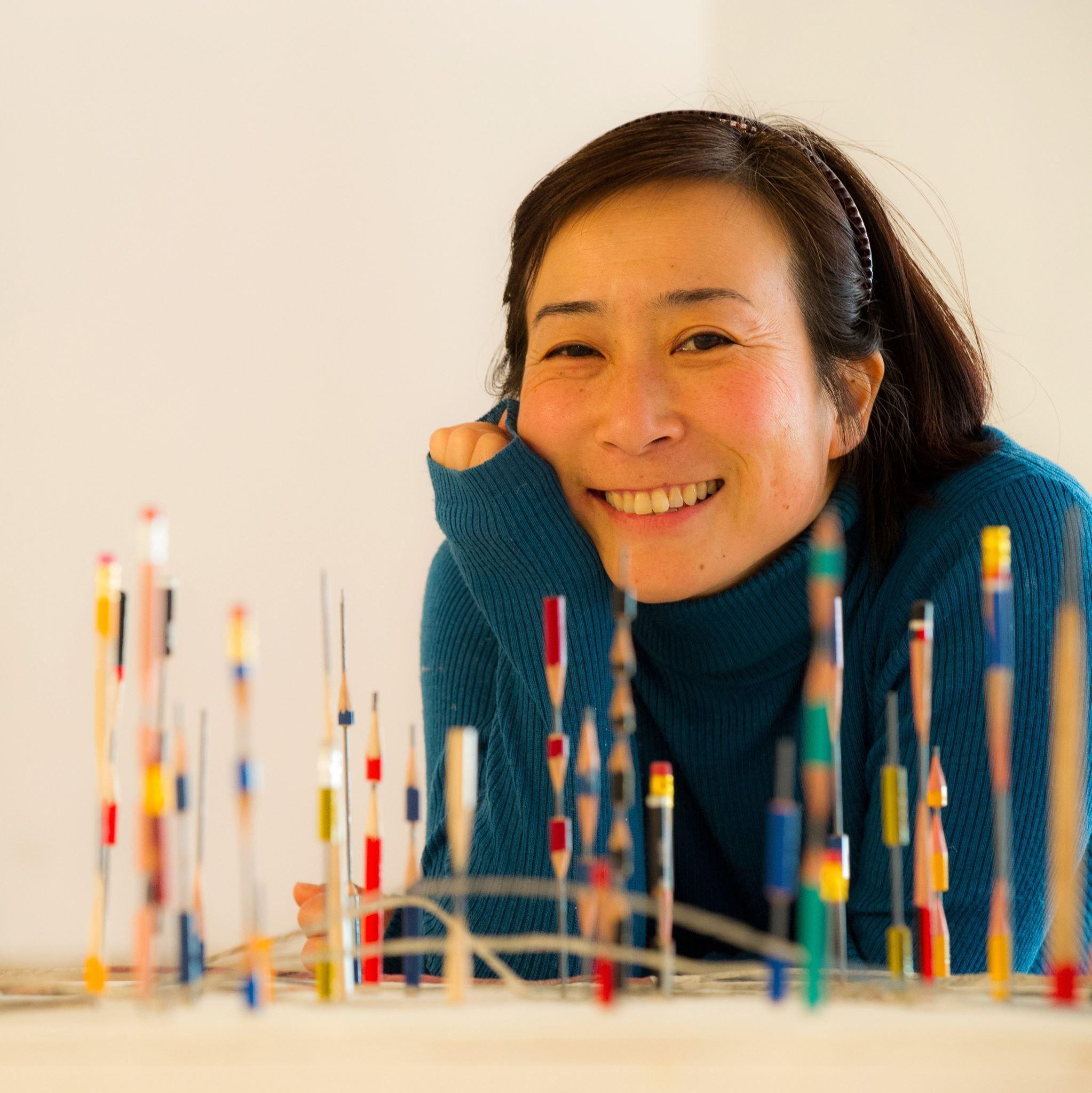 Rina Ota, poeta visual