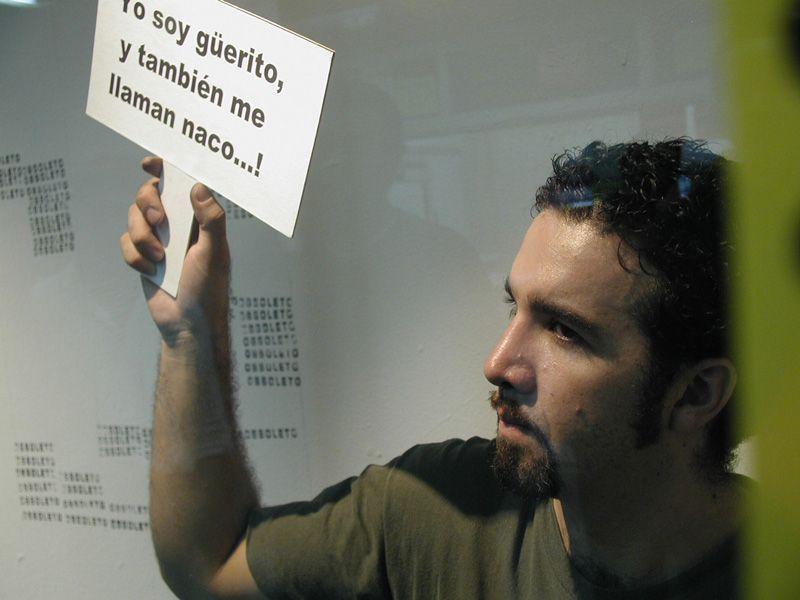 Rivelino Díaz Bernal, poeta visual