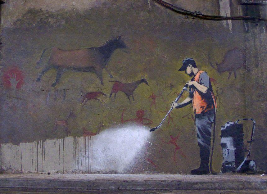 Robert Banksy, poeta visual