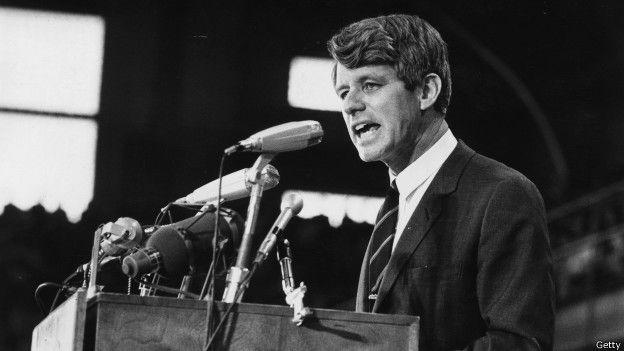 Discurso de Robert F. Kennedy anunciando el 4 de abril de 1968 la muerte de Martin L. King