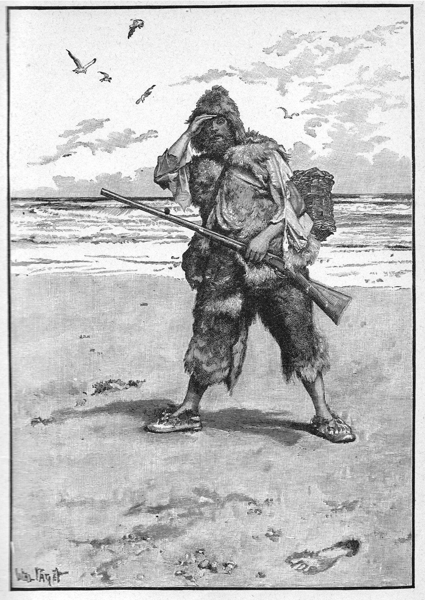 Robinson Crusoe y El libro de la selva