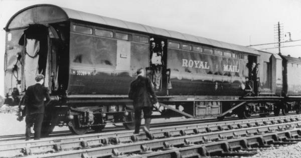 Asalto al tren de Glasgow, 1963