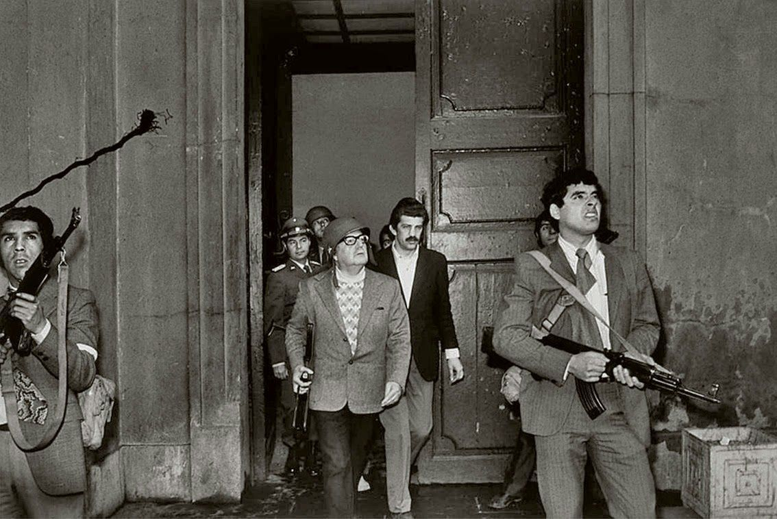 Último discruso de Salvador Allende