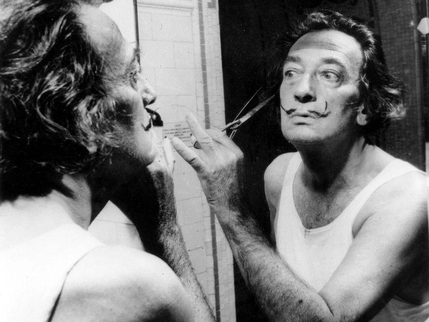 """Salvador Dalí como invitado en el programa TV americana """"¿What's my line?"""""""