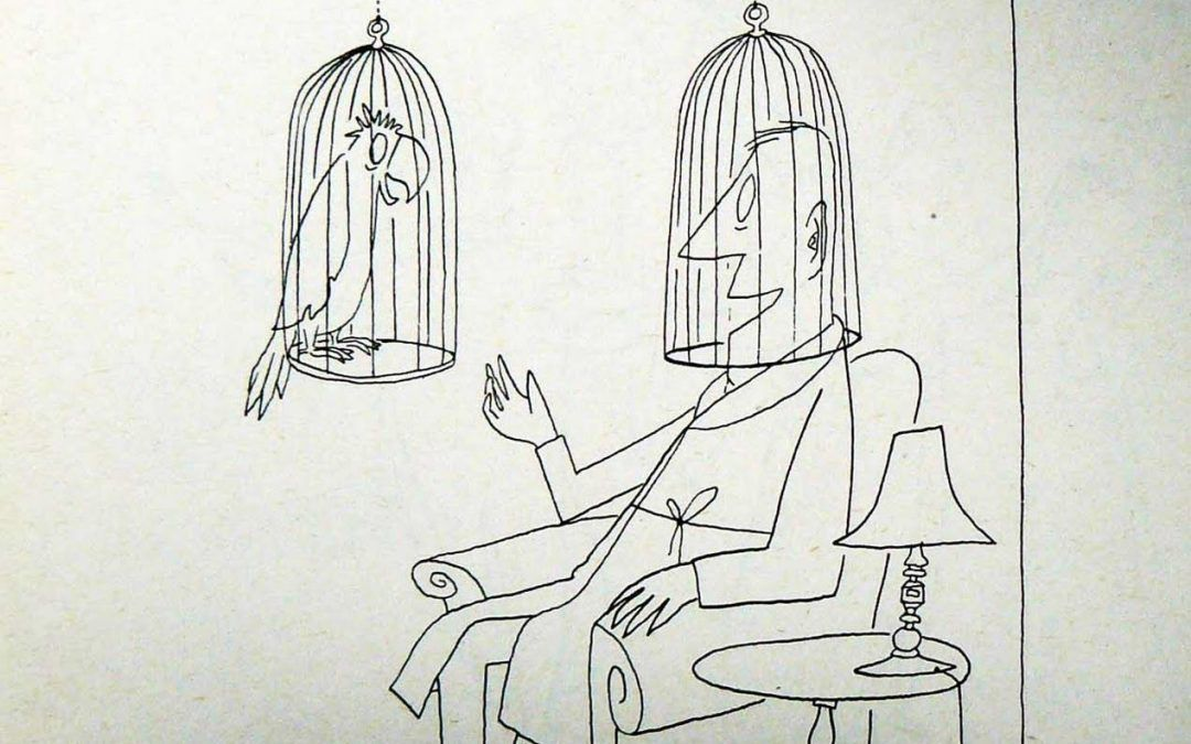 Jaulas de Saul Steinberg