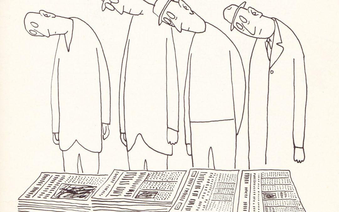 Periódicos Saul Steinberg