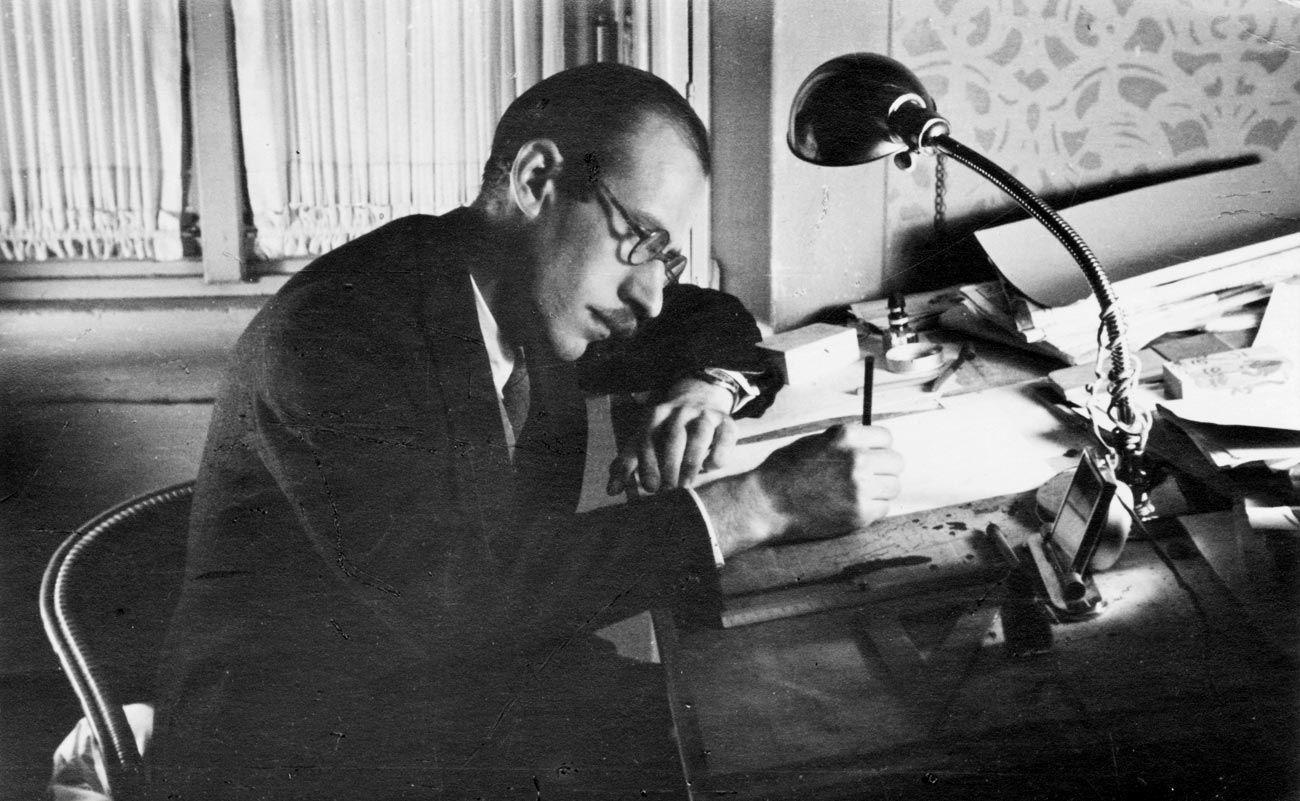 Saul Steinberg, poeta visual