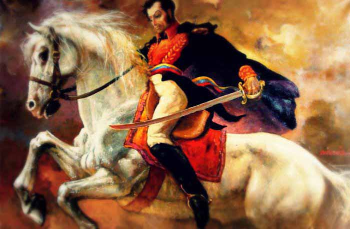 Colombia libre, discurso de Simón Bolivar en la Hacienda de San Pedro (Santa Marta) pronunciado el 10 Diciembre 1830