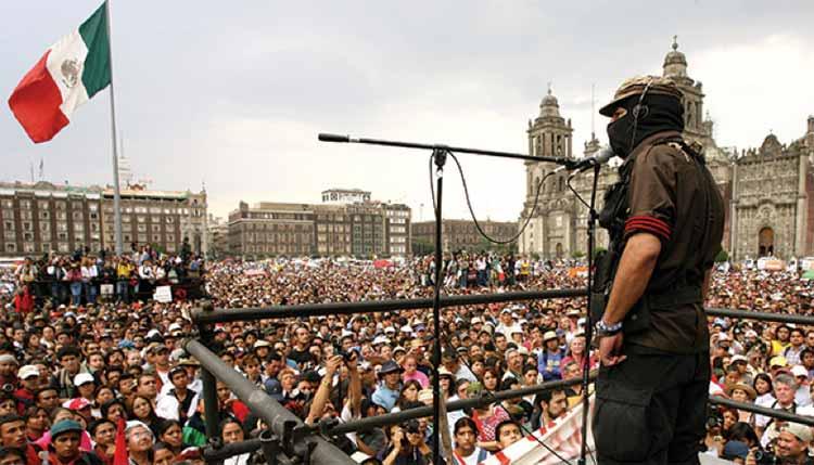 Somos el color de la tierra, discurso pronunciado en el Zócalo de la Ciudad de México el 11 de marzo de 2001