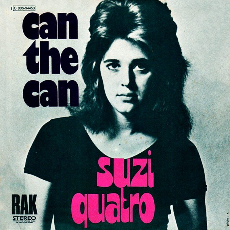 Can the can de Suzi Quatro