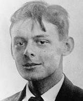 T.S. Eliot joven