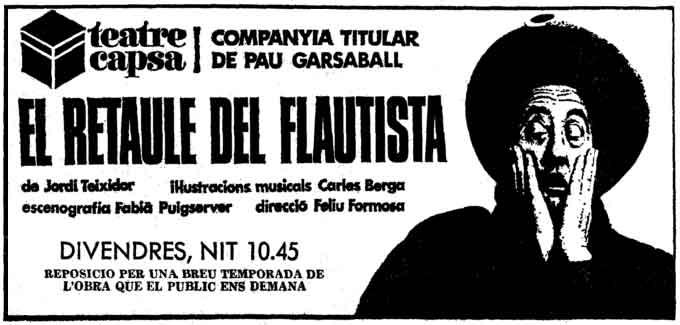 Teatro Capsa en Ersilias
