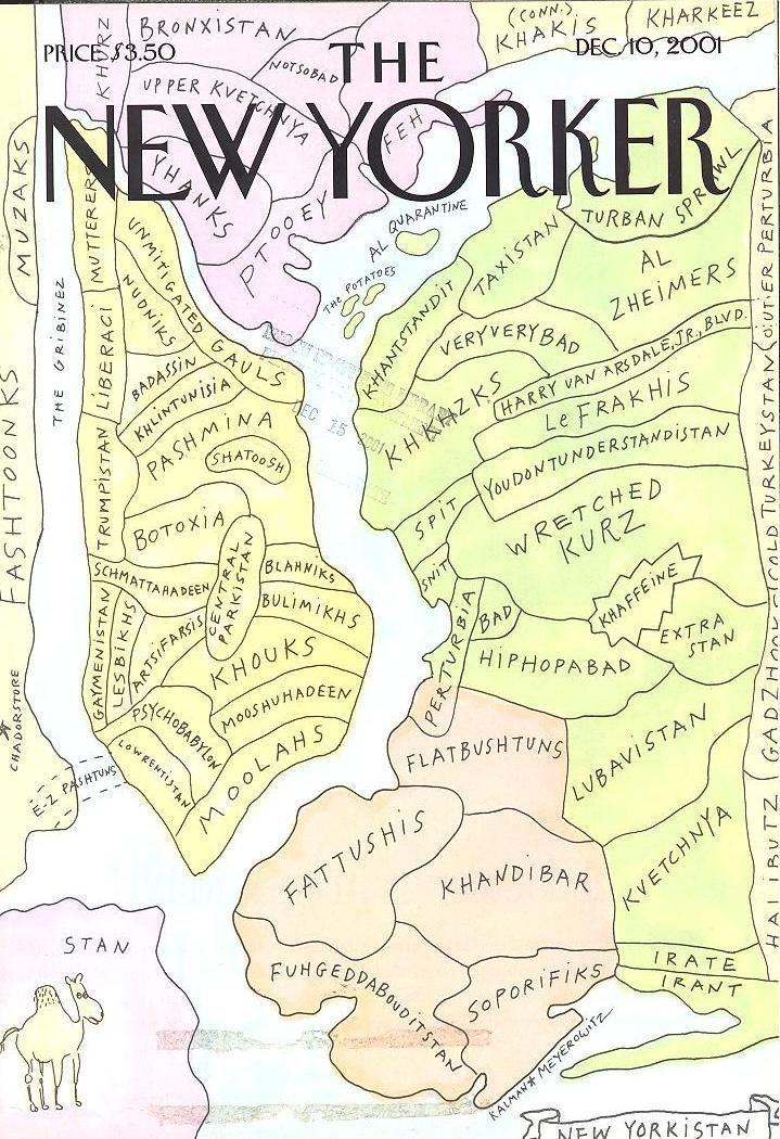 The New Yorker (10 de Diciembre de 2001) Portadas revistas