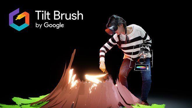 Tilt Brush by Google, poeta visual