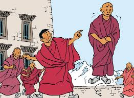 Tintín en el Tibet de Hergé