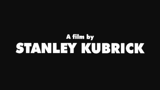 La tipografía en los títulos de Stanley Kubrick