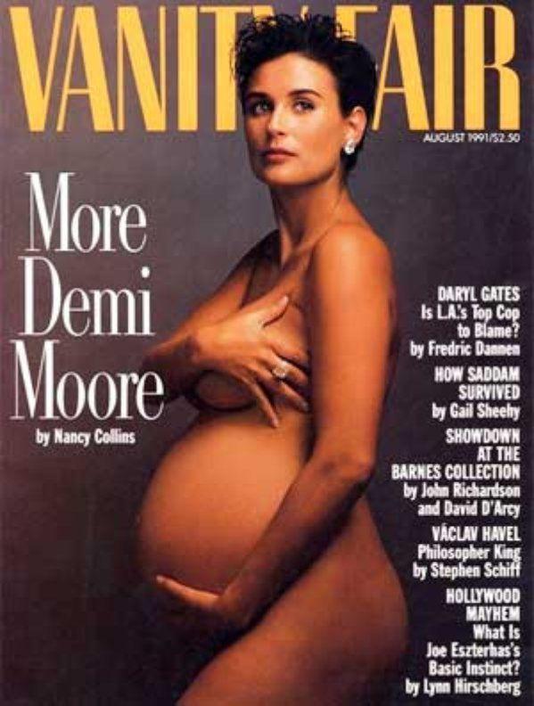 Vanity Fair (Agosto de 1991 - Demi Moore) Portadas revistas