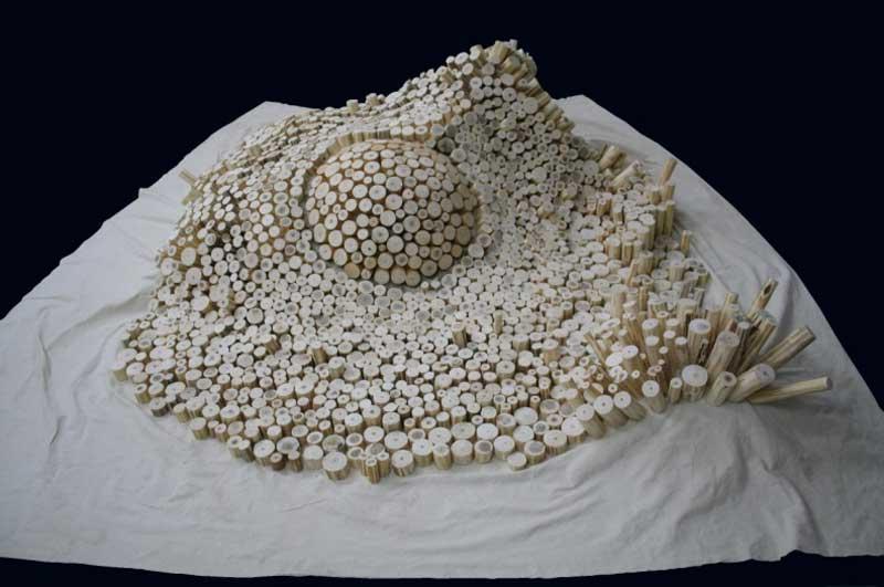 Escultura de Varol Topaç