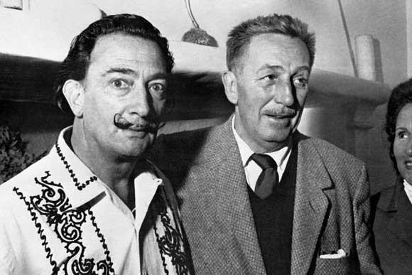 Destino de Walt Disney y Salvador Dali