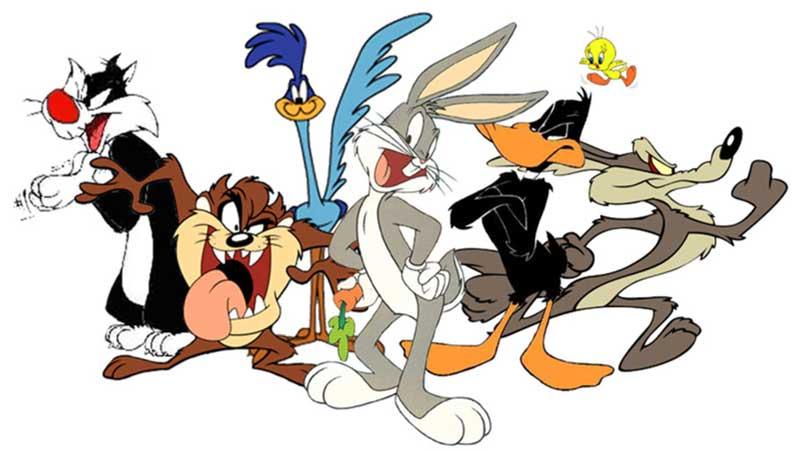 Los dibujos animados de la Warner Bros.