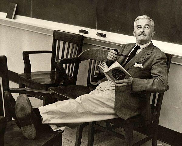 William Faulkner, escritor, consejos