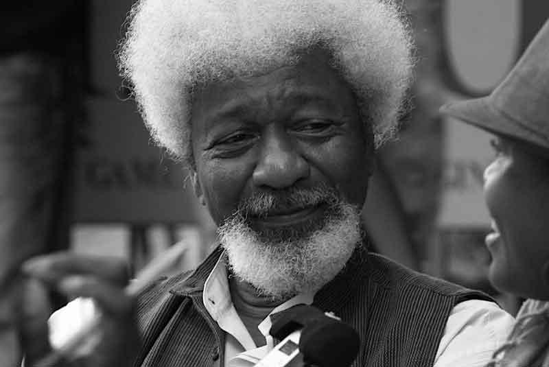 Wole Soyinka, poeta, Abeokuta (Nigeria), 1934