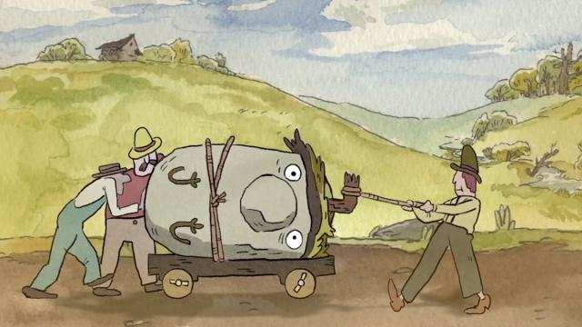 An object at rest, Seth Boyden, 2015 (cortometraje de animación)