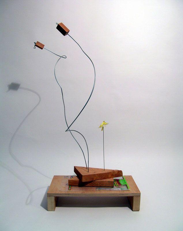 B.  Wurtz, escultura