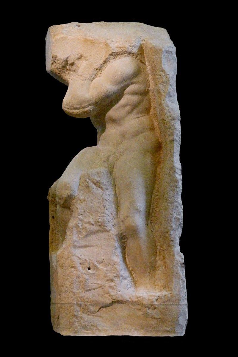 esculturas inacabadas de Michelangelo