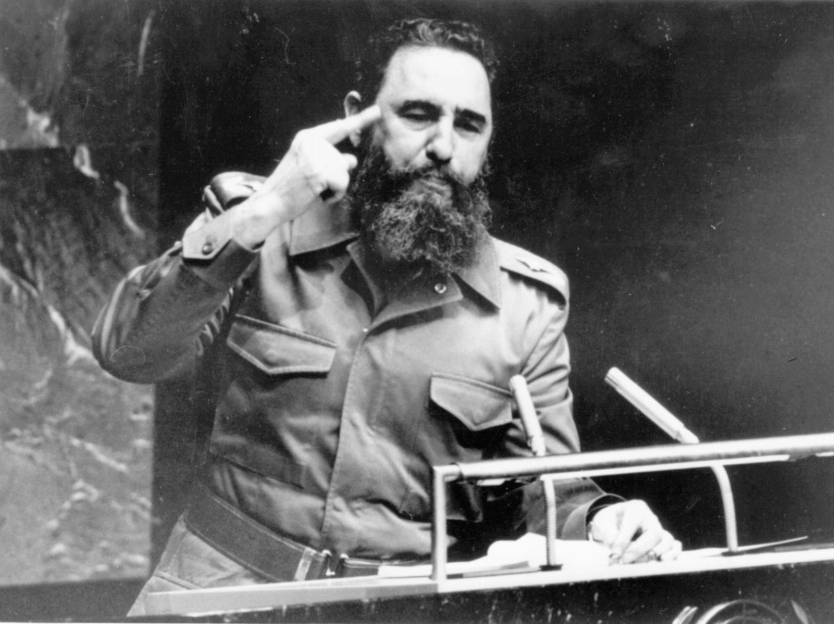 Discurso de Fidel Castro