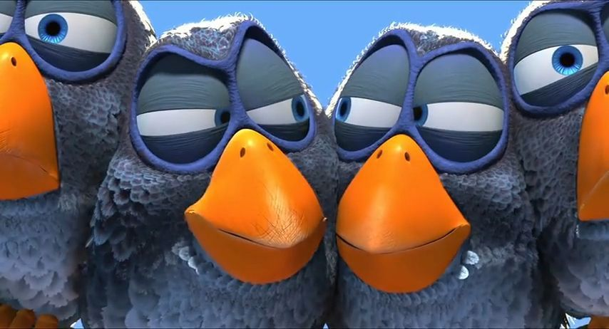 For the birds, Pixar, 2000