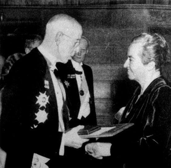 Discurso de Gabriela Mistral al recoger el Premio Nobel del 1945