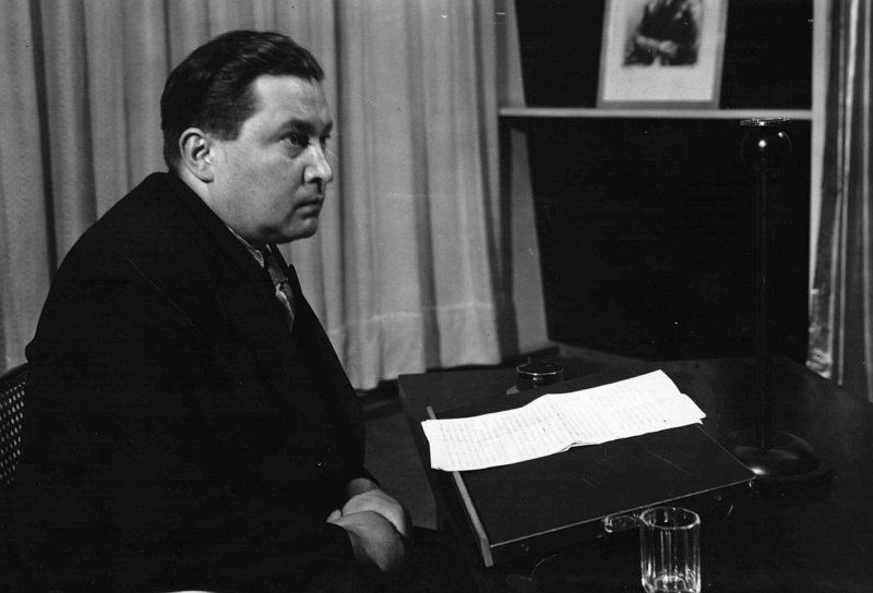 Jaroslav Seifert, poeta, Praga, 1901-1986