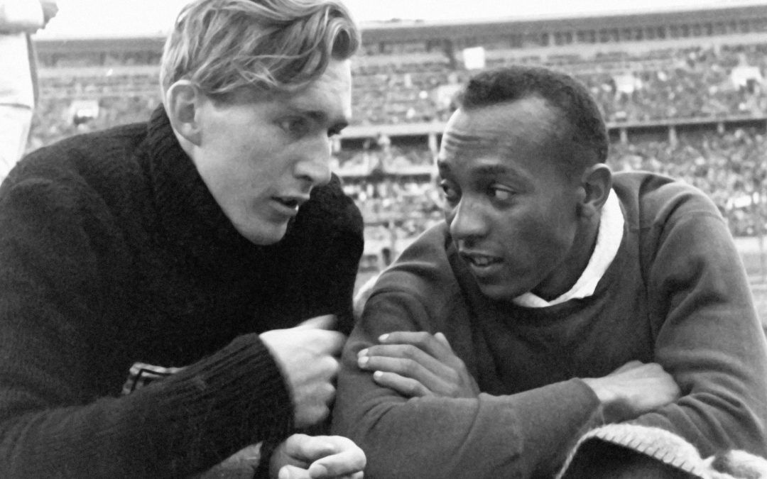 Amistad entre Jesse Owens y Lutz Long