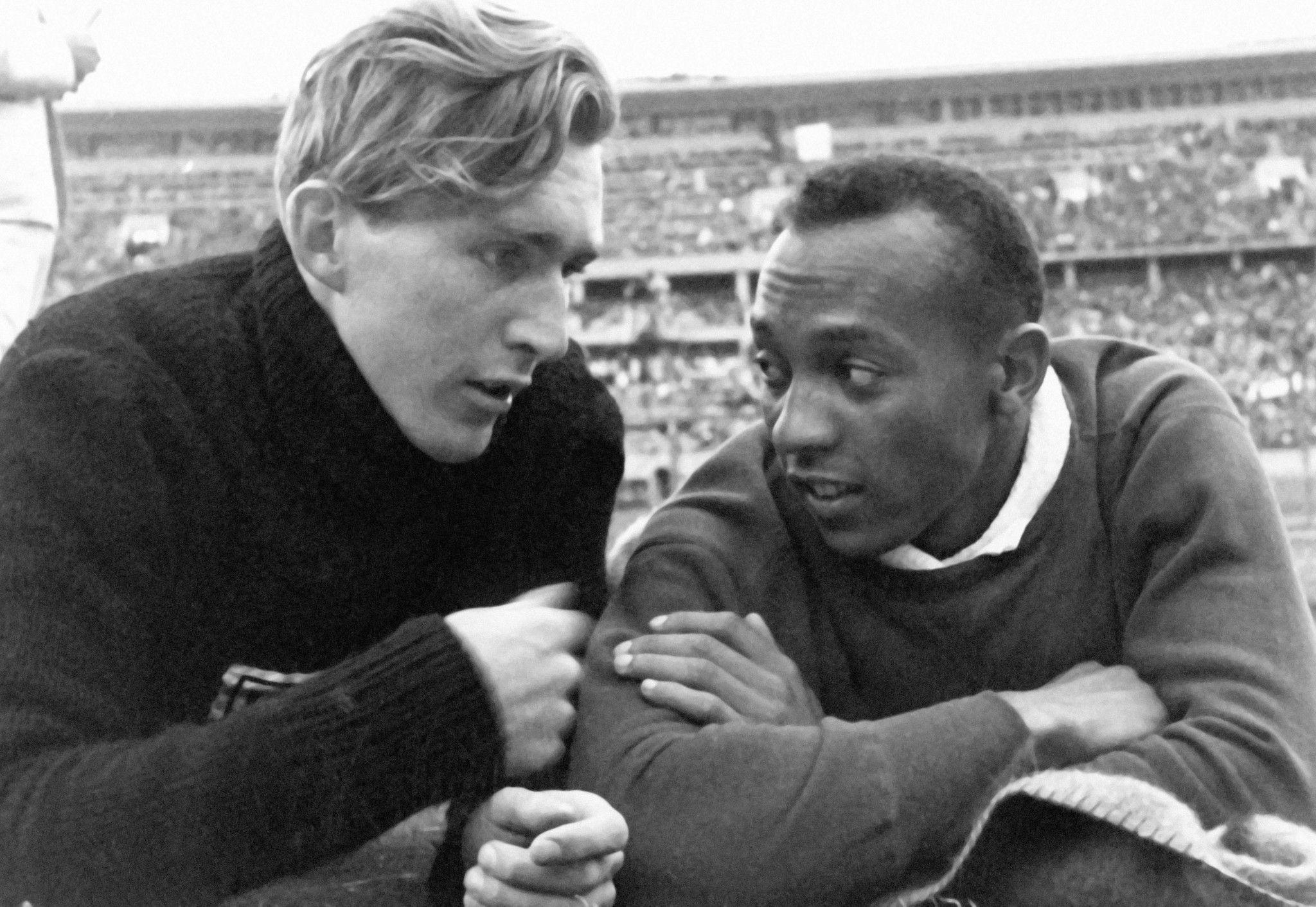 Amistad de Jesse Owens y Lutz Long