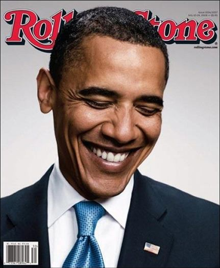 Portada Barak Obama Revista Rolling Stones