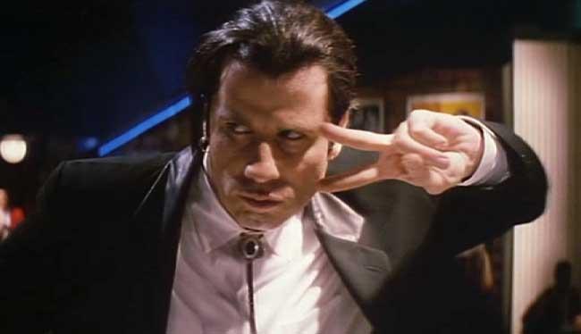Pulp Fiction de Quentin Tarantino, 1994 (escena baile)