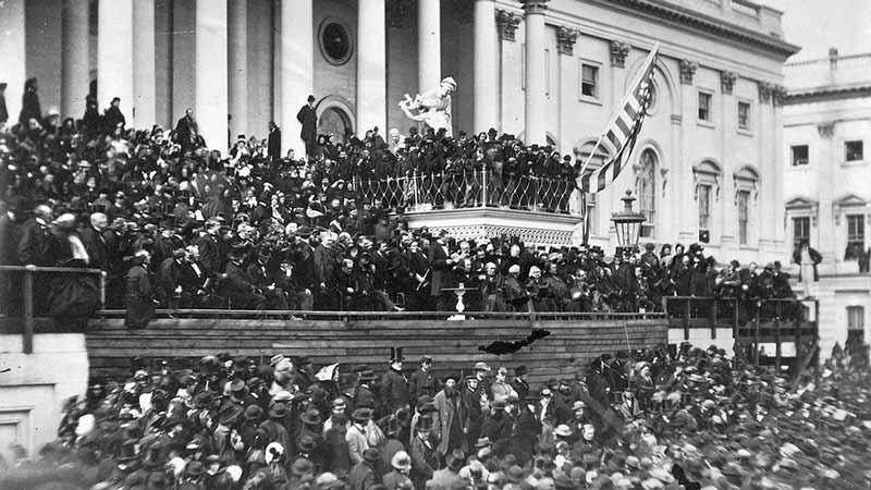 Segundo discurso de toma de posesión presidencial de Abraham Lincoln pronunciado el 4 de marzo de 1865ión de Abraham Lincoln de 1861